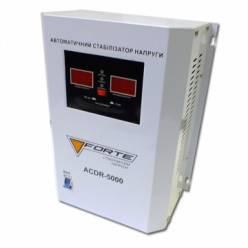 Стабилизатор напряжения однофазный FORTE ACDR-5kVA - настенный